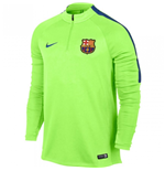 2016-2017 Barcelona Nike Drill Training Top (Ghost Green)