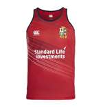 2016-2017 British Irish Lions Rugby Poly Singlet (Red))