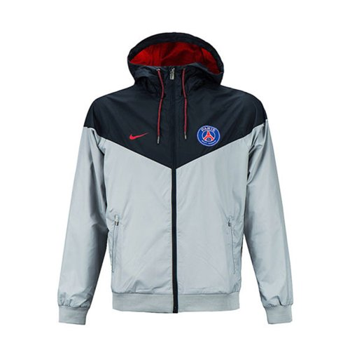 Nike Paris Saint Germain Authentic Windrunner Wolf Grey