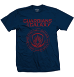 Marvel Comics Men's Tee: Guardians of the Galaxy Vol. 2 Seal