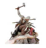 Assassin's Creed III PVC Statue Connor The Last Breath 28 cm --- DAMAGED PACKAGING