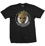 Marvel Comics Men's Tee: Guardians of the Galaxy Vol. 2 Groot Circular