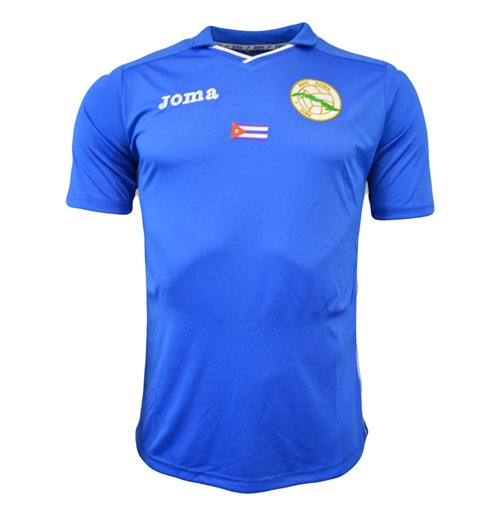 940cdc41c1c4 Official 2015-16 Cuba Third Joma Football Shirt  Buy Online on Offer