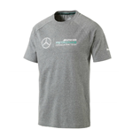 2017 Mercedes AMG Petronas Puma Logo Tee (Medium Grey)