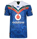 2017 New Zealand Warriors Canterbury Replica Heritage Rugby Jersey