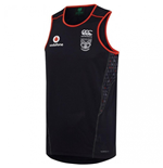 2017 New Zealand Warriors Rugby Training Singlet (Black)