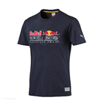 2017 Red Bull Racing Puma Logo Tee (Total Eclipse)