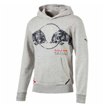 2017 Red Bull Racing Puma Graphic Hoody (Light Grey)
