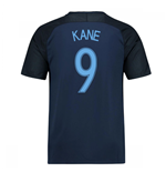 2017-18 England Away Shirt (Kane 9) - Kids