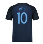 2017-18 England Away Shirt (Dele 10) - Kids