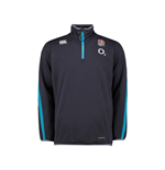 2017-2018 England Rugby Thermoreg Bonded Fleece Top (Graphite)
