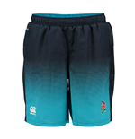 2017-2018 England Rugby Woven Gym Shorts (Arctic)
