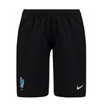 2017-2018 France Nike Away Shorts (Black)