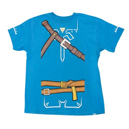 The LEGEND OF ZELDA Breath Of The Wild Boys Costume Tee Shirt