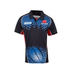 2017 NSW Waratahs Rugby Training Polo Shirt (Blue)