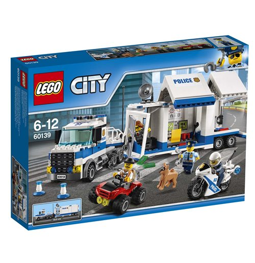 Police Lego and MegaBloks 260815