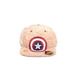 Captain America Civil War - Shield Logo Cork Snapback