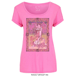 Janis Joplin Ladies Fashion Tee: Avalon Ballroom '67