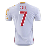 2016-2017 Spain Adidas Away Shirt (Raul 7) - Kids