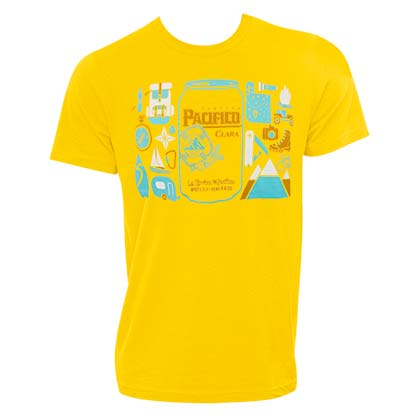 PACIFICO Yellow Can Logo Tee Shirt