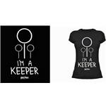 Harry Potter Ladies T-Shirt I'm A Keeper