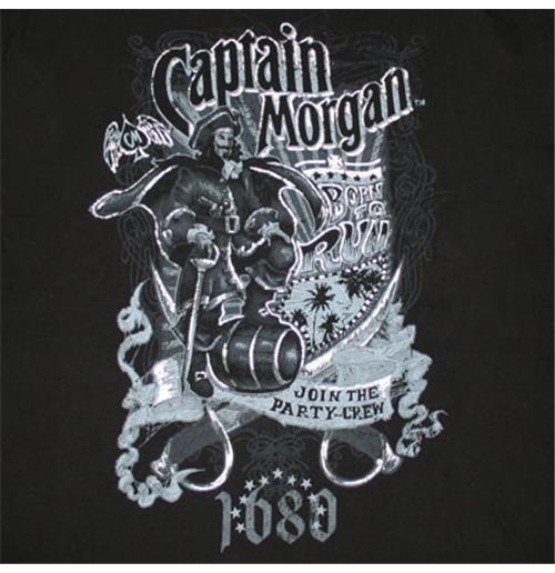 captain morgan t shirt for only at merchandisingplaza uk. Black Bedroom Furniture Sets. Home Design Ideas