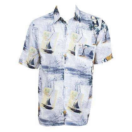 CORONA EXTRA Coast With The Most Aloha Hawaiian Shirt