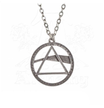 Pink Floyd Pendant with Chain Dark Side