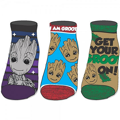 GUARDIANS OF THE GALAXY Ladies Ankle Socks Set