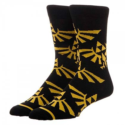 The LEGEND OF ZELDA Triforce Crew Socks
