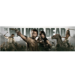 The Walking Dead Door Poster - Banner - 53x158 Cm