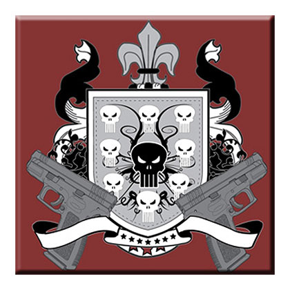 PUNISHER Crest Magnet