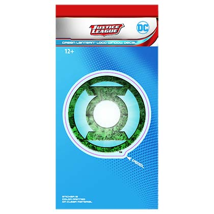 GREEN LANTERN Window Decal