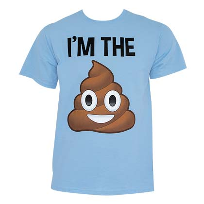 Poop Emoji Im the S**t Tee Shirt