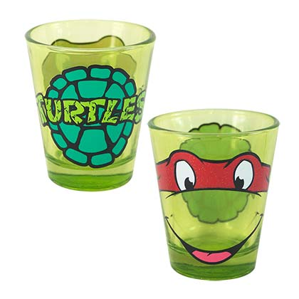 Teenage Mutant Ninja Turtle Raphael Shot Glass