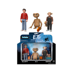 E.T. the Extra-Terrestrial ReAction Action Figures 3-Pack 10 cm