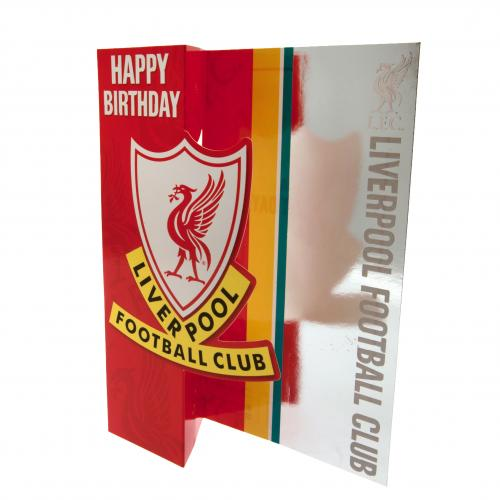 Liverpool F.C. Birthday Card
