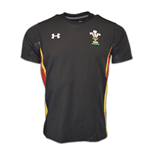 2015-2016 Wales Rugby WRU Training Jersey (Black)