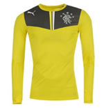 2013-14 Rangers Puma Home Goalkeeper Shirt (Yellow) - Kids