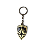 Guardians of the Galaxy Vol 2 - Shield Logo Metal Keychain