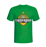 Cameroon Country Logo T-shirt (green)