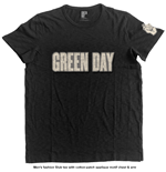Green Day Men's Fashion Tee: Logo & Grenade
