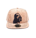 STAR WARS Darth Vader Cork Snapback Baseball Cap, One Size, Cork/Tan