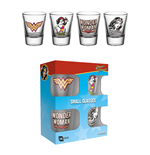 Wonder Woman - 60'S Pop Shot Glasses