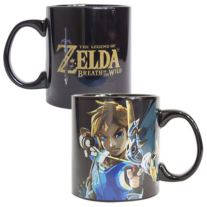 The LEGEND OF ZELDA Breath Of The Wild Mug