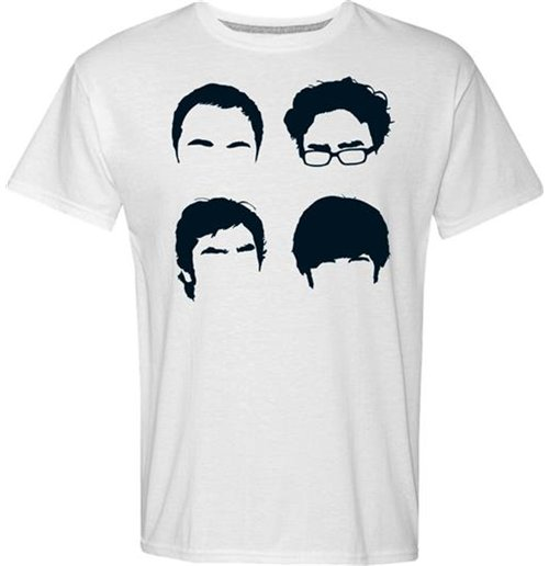official big bang theory t shirt faces buy online on offer. Black Bedroom Furniture Sets. Home Design Ideas