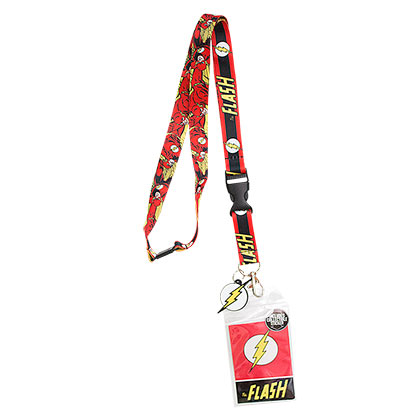The FLASH Comic Lanyard
