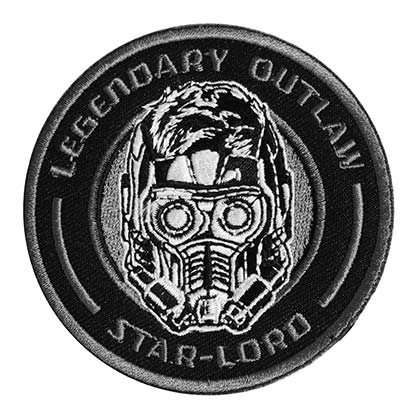 GUARDIANS OF THE GALAXY Star Lord Embroidered Patch PLACEHOLDER