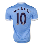 2015-16 Man City Home Shirt (Your Name)