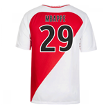 2016-17 Monaco Home Shirt (Mbappe 29) - Kids